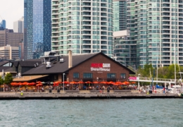 Best patios with a view of the lake in Toronto