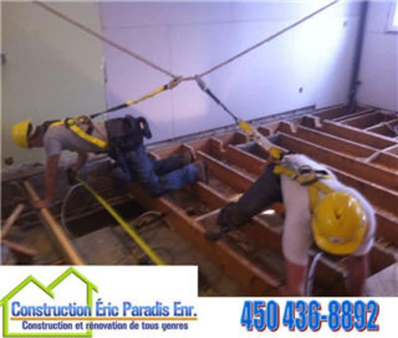 photo Construction Eric Paradis