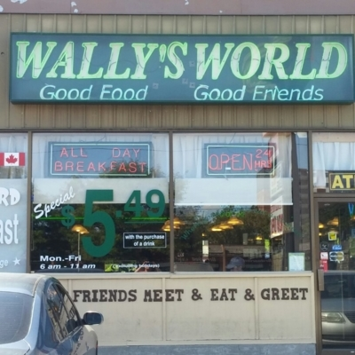 Wally's World Restaurant - Restaurants de déjeuners - 905-433-0369