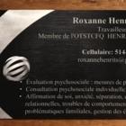 Roxanne Henri Travailleuse Sociale - Travailleurs sociaux