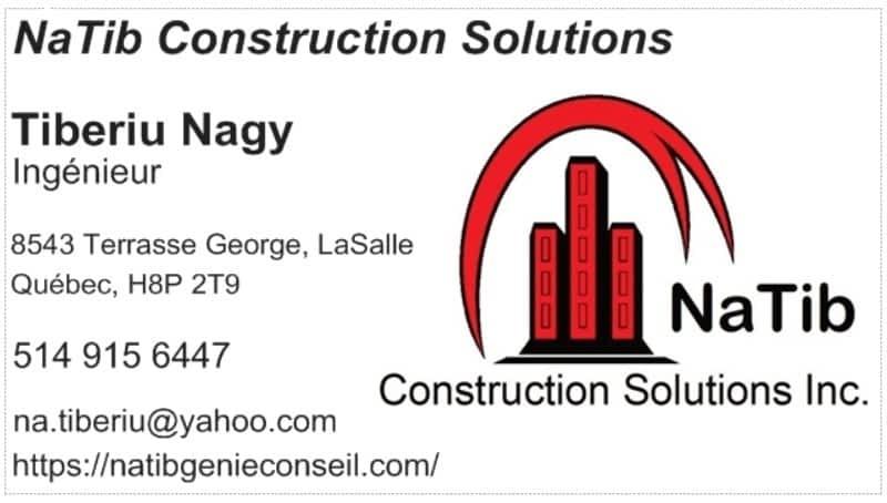 photo NaTib Construction Solutions Inc