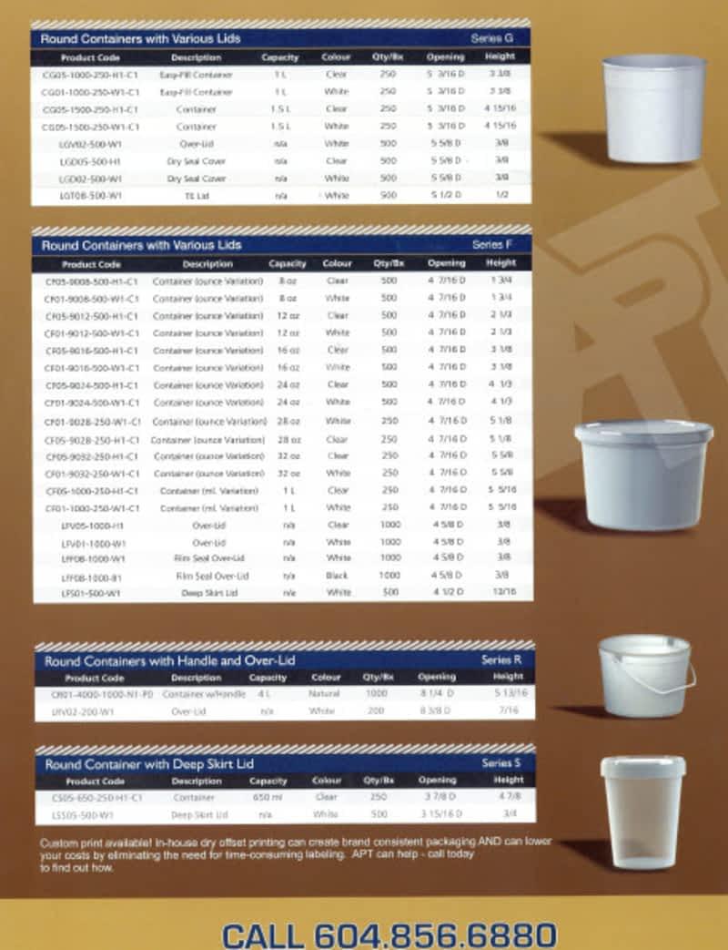 Applied Plastics Technology Inc Langley Bc 5318 271