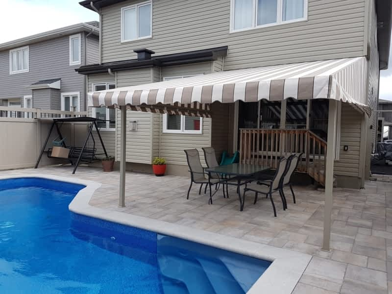 Auvents Lalonde Awnings Embrun On 1007 Rue Notre Dame