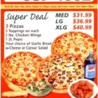 Mezzano's - Pizza et pizzérias