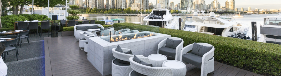 Heated patios for year-round outdoor dining in Vancouver