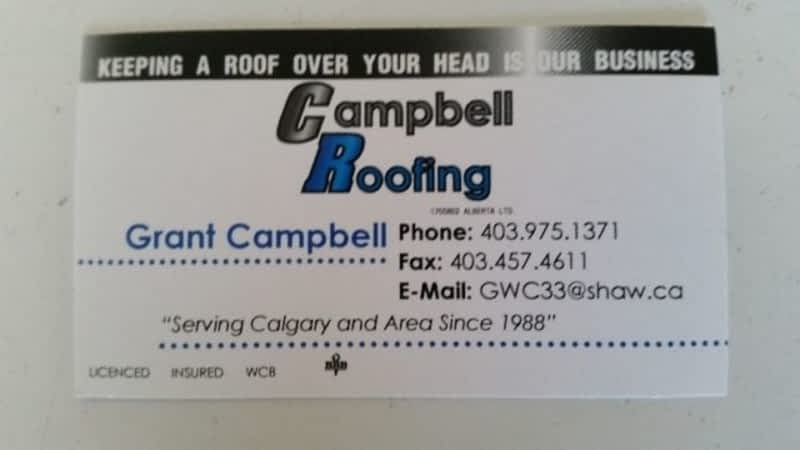 photo Campbell Roofing