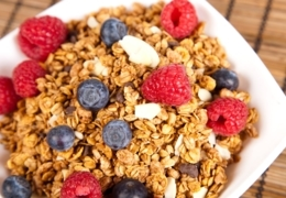 Great breakfast places for granola in Vancouver
