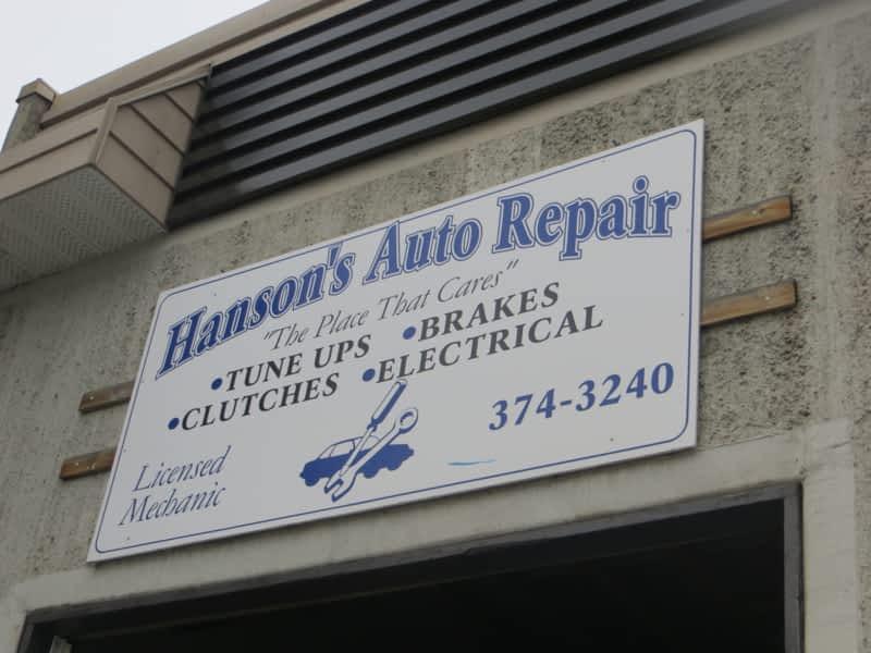 Hanson 39 s auto repair kamloops bc suite 2b 962 laval for Hanson motors service department