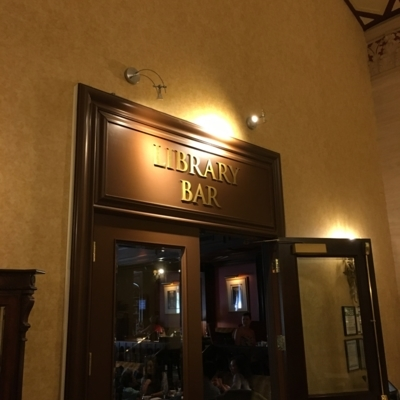 The Library Bar - Hotels - 416-368-2511
