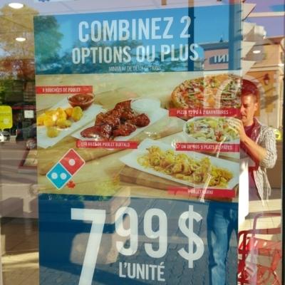 Domino's Pizza - Pizza et pizzérias - 450-670-6999