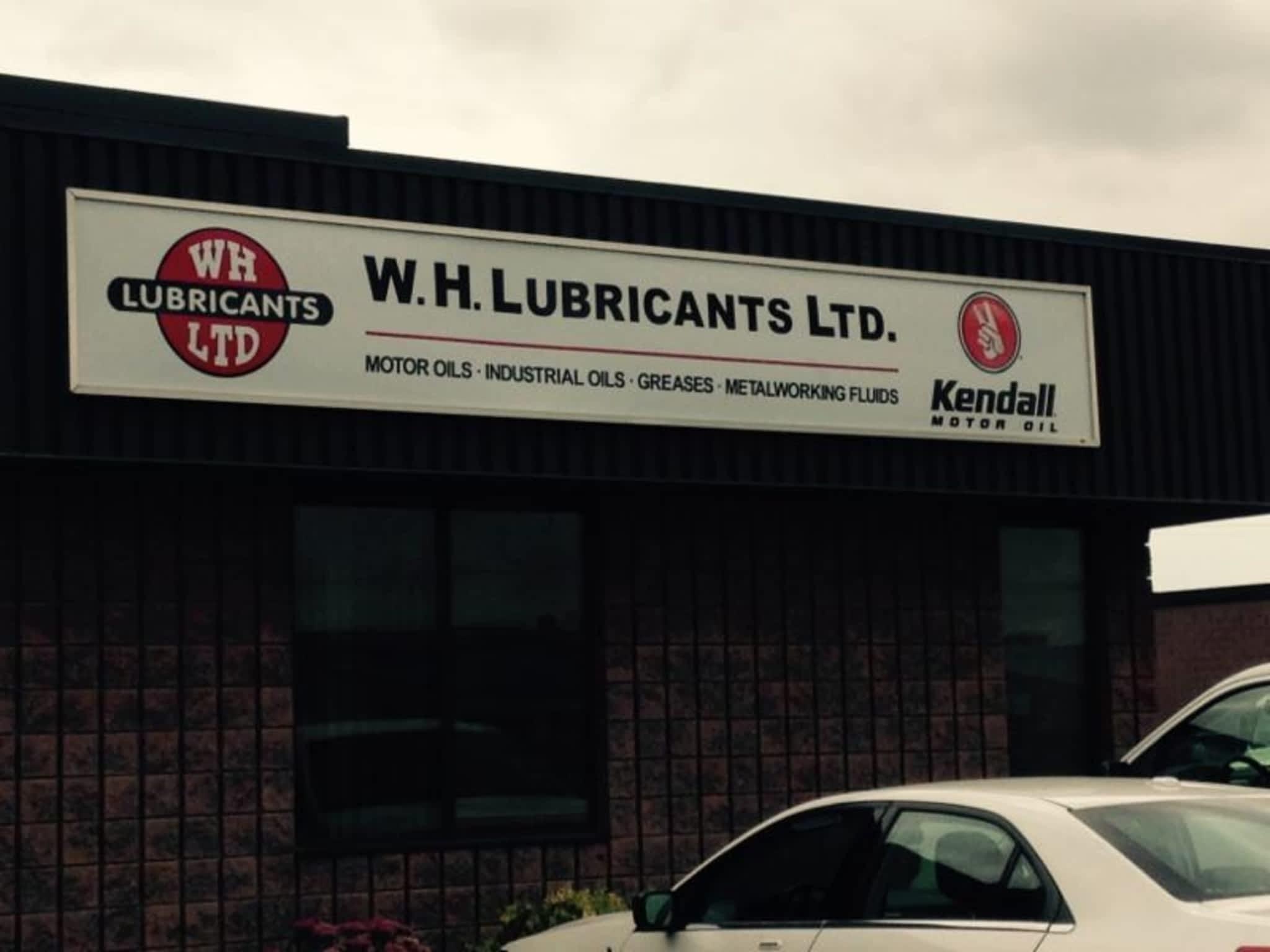 photo W H Lubricants Ltd
