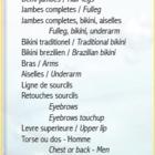 Kosmetix Esthétique - Eyebrow Threading