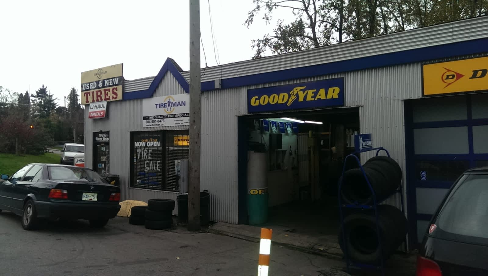 Tire Places Near Me Open Now >> Tire Man Opening Hours 10997 River Rd Delta Bc