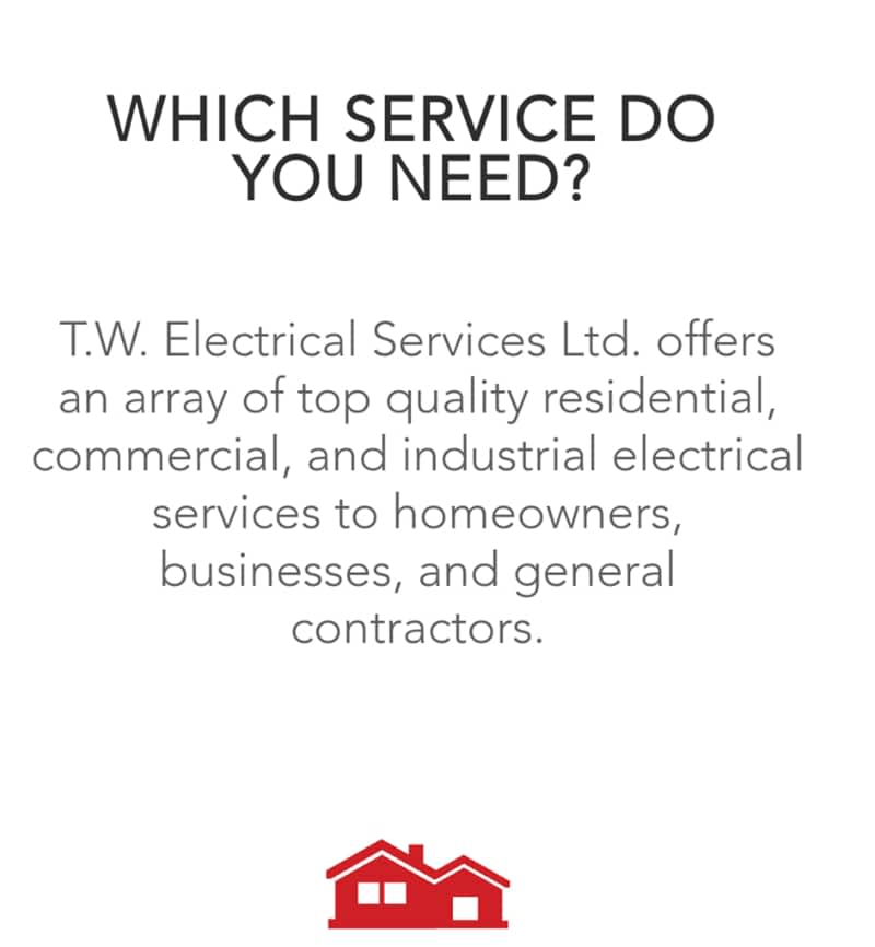 photo T.W Electrical Services Ltd.