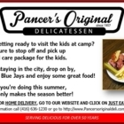 Pancers Original Deli - Restaurants - 416-636-1230