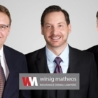 Wirsig Matheos Insurance Denial Lawyers - Human Rights Lawyers - 604-941-0149