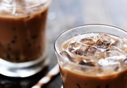 Sip on a cold brew coffee