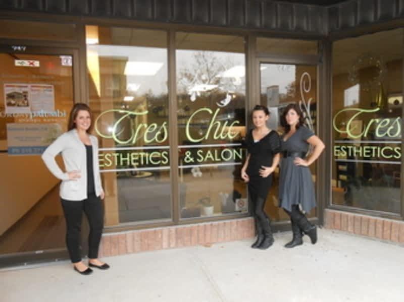 Tres chic esthetics and salon owen sound on 747 2nd for 2nd avenue salon