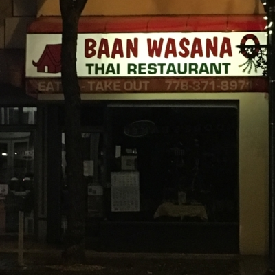Baan Wasana Thai Restaurant - Asian Restaurants - 778-371-8971