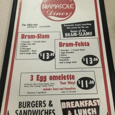Bramasole Diner - Burger Restaurants - 613-234-0502