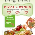 Top One Pizza & Wings - Italian Restaurants - 416-666-7979