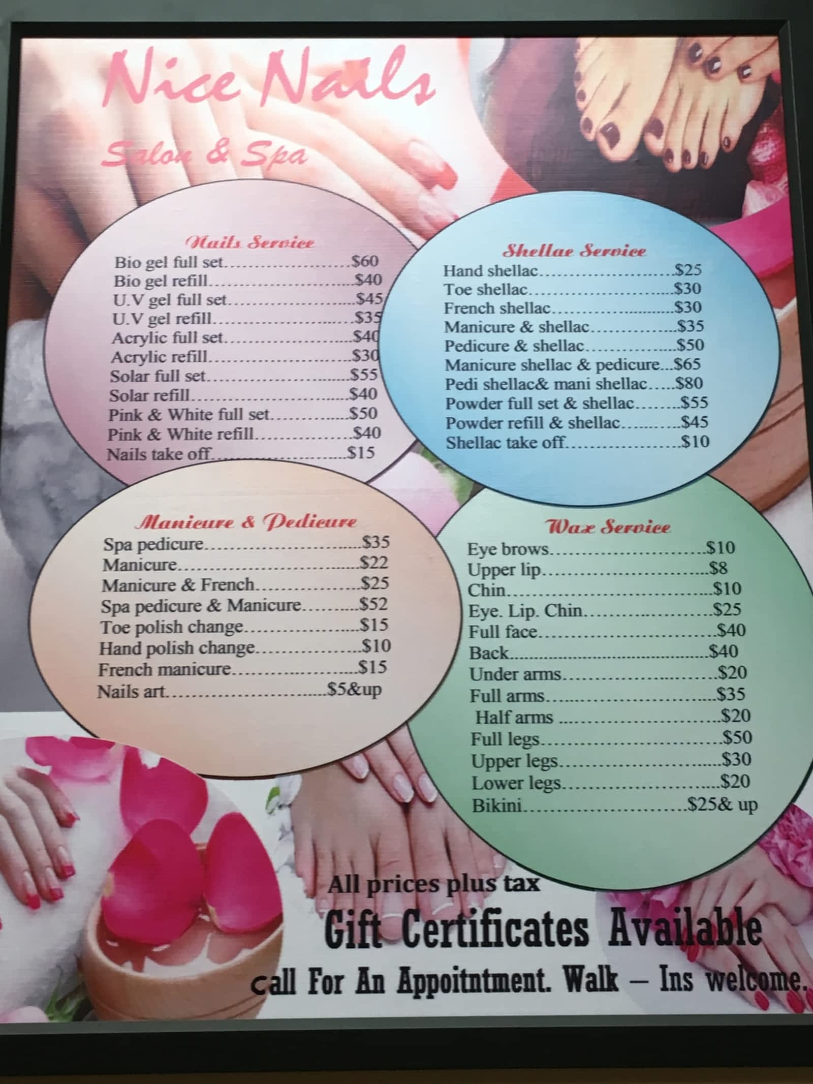 Nice Nails - Opening Hours - 123-133 Church St, Antigonish, NS