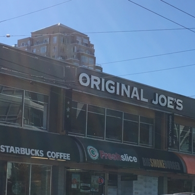 Original Joe's - American Restaurants - 604-434-5636