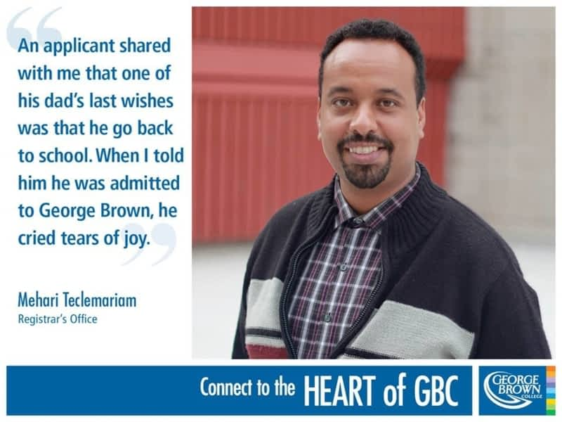 photo George Brown Toronto City College Redirection Through Education