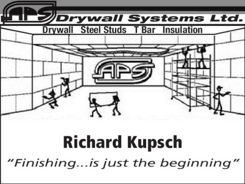 photo APS Drywall Systems Ltd