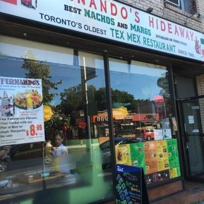Fernandos Hideaway - Restaurants