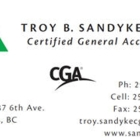 Sandyke & Company - Accountants - 250-434-1182