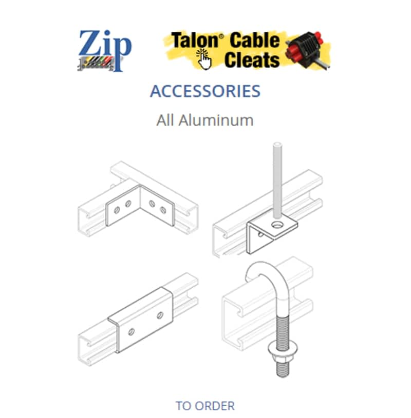 photo Zip Cable Tray System