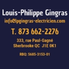 LP Gingras Electricien Inc - Électriciens - 873-662-2276