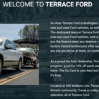 Terrace Ford Lincoln Sales Inc - New Car Dealers - 905-632-6252