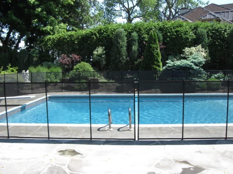 Cl ture de piscine amovible enfant s cure canpages - Cloture piscine amovible villeurbanne ...