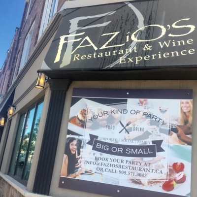 Fazio's Restaurant & Wine Experience - Restaurants italiens - 905-571-3042