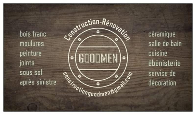 photo Construction Rénovation Goodmen Inc