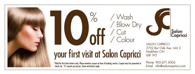 Salon Capricci Markham On 2732 Bur Oak Ave Canpages