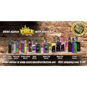 East Coast Distribution - VapeCity - Opening Hours - 6-50 Pippy Pl