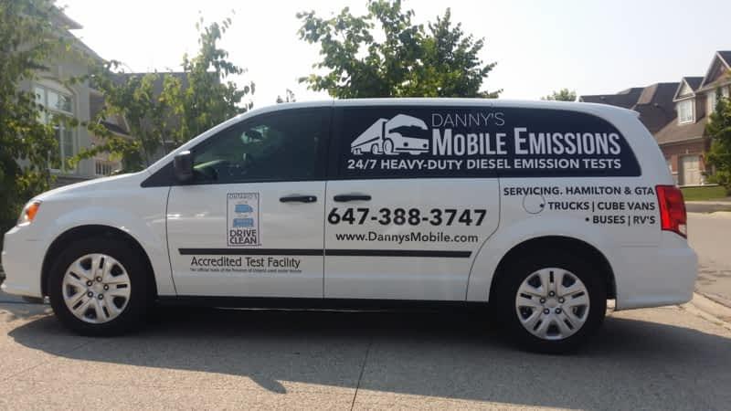 photo Danny's Mobile Emissions Ltd