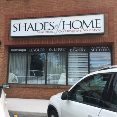 Shades of Home - Interior Decorators - 905-827-8555