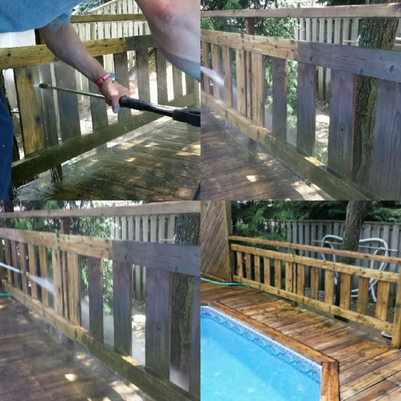 photo New Look Deck and Fence Cleaning