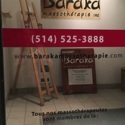 Baraka Massothérapie Inc - Registered Massage Therapists