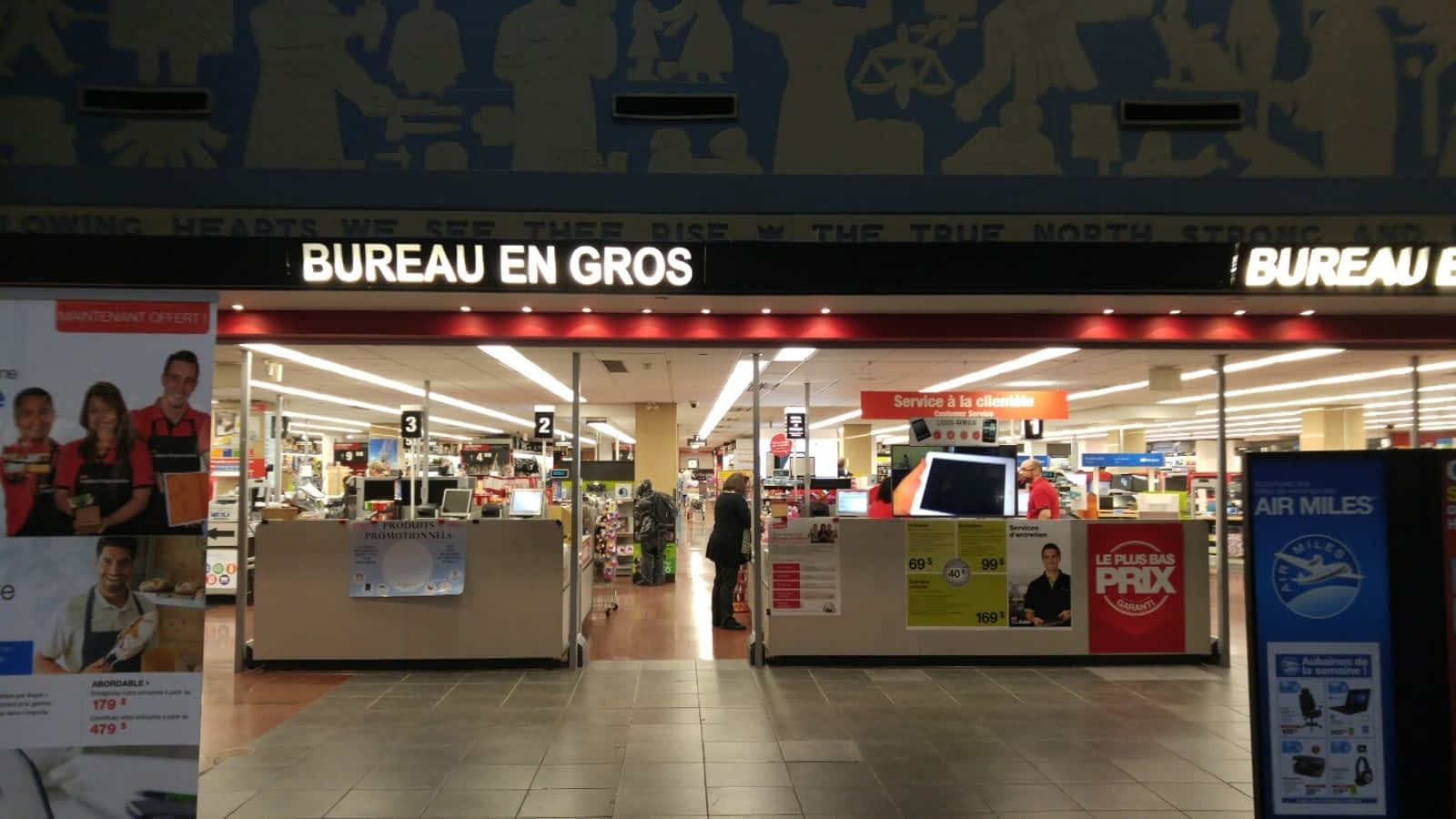 Bureaux en gros quebec: bureau en gros u up to off on tuango. carte