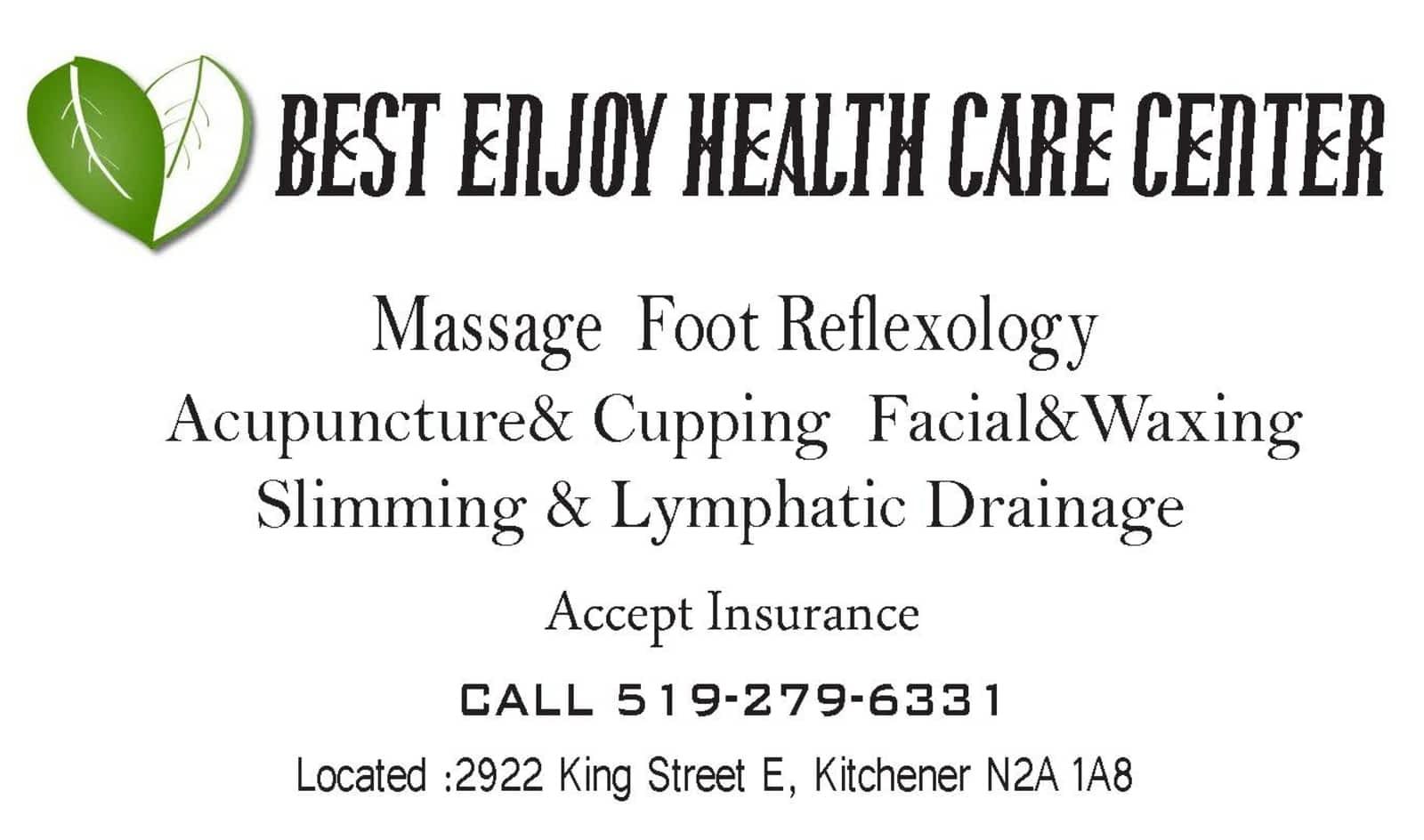 Li\'s Best Enjoy Health Care Center - 2922 King St E, Kitchener, ON