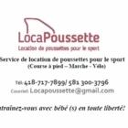 LocaPoussette - General Rental Service - 418-717-7899