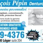 Voir le profil de François Pepin Denturologistes - Saint-François