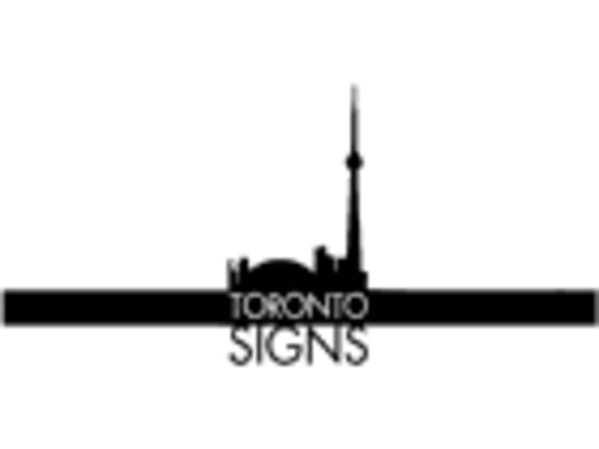 photo Toronto Signs