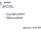Voir le profil de Construction Danny Pelchat - L'Ange Gardien