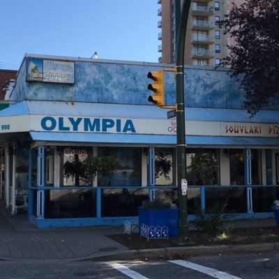 Olympia Pizza & Pasta Restaurant On Denman - Greek Restaurants - 604-688-8332